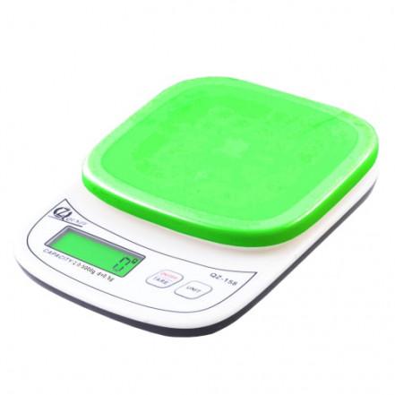 Весы кухонные QZ-158, 5кг (0.5г)