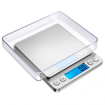 Весы ювелирные 6295, 3кг (0.1г) +чаша