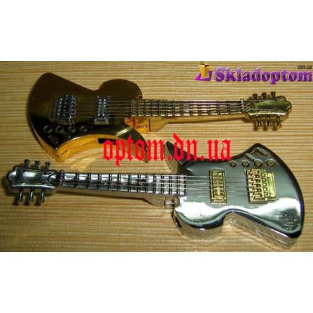 Зажигалка гитара (турбо пламя) 3853