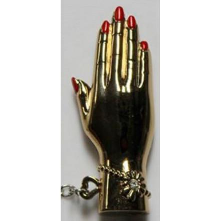 Зажигалка брелок рука 4150