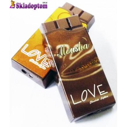 Зажигалка в виде шоколадки  2376