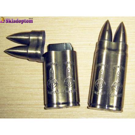 """Зажигалка газовая """"Патрон AK-47"""" 4204"""