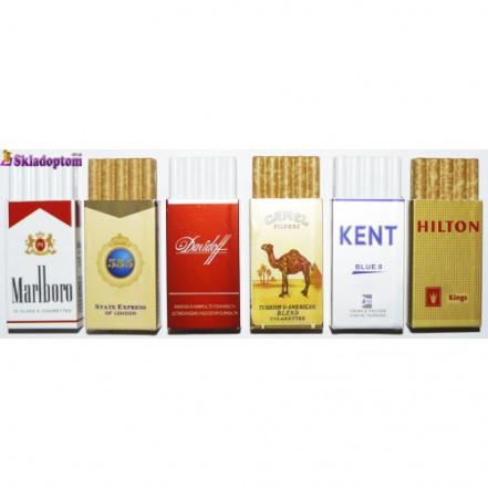 Зажигалка в виде пачки сигарет  Р 2154