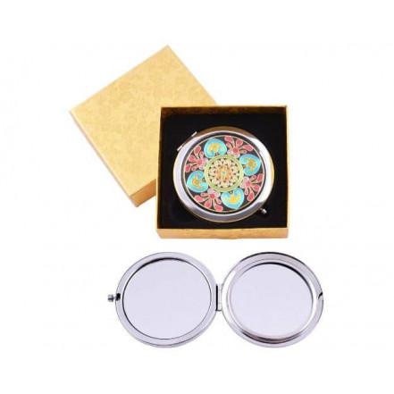 Зеркало в подарочной упаковке, двухстороннее 538-22