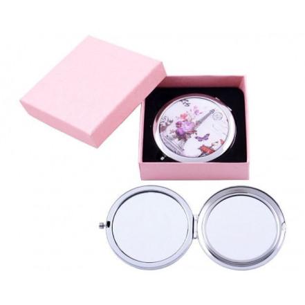 Зеркало в подарочной упаковке, двухстороннее 538-8