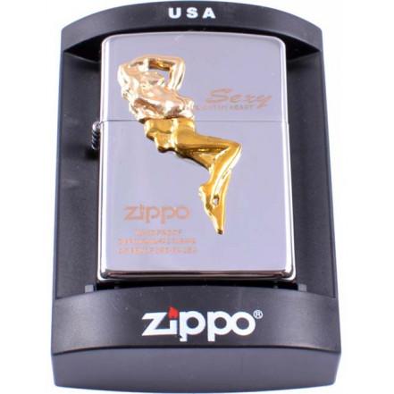 Зажигалка бензиновая Zippo Sexy 4234