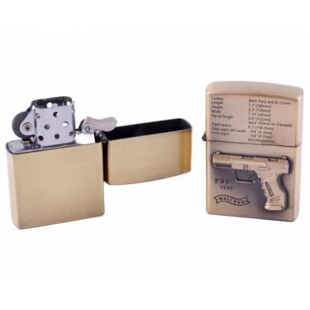 Зажигалка бензиновая Kraft Gun HL-6157-3