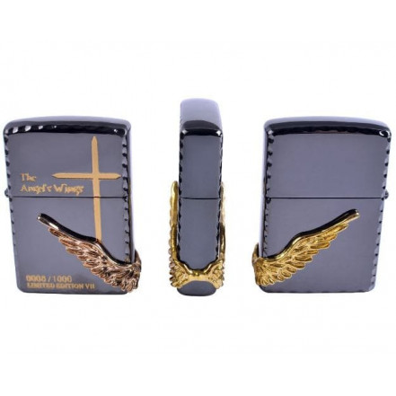 Зажигалка бензиновая Zippo the Angel Wings 4211