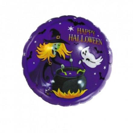 Шарик (45см) Хэллоуин Ведьма