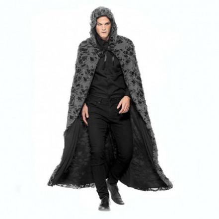 Карнавальный плащ с капюшоном Средневековый колдун